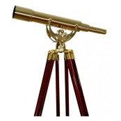 Saxon 15-45x50 Brass Telescope