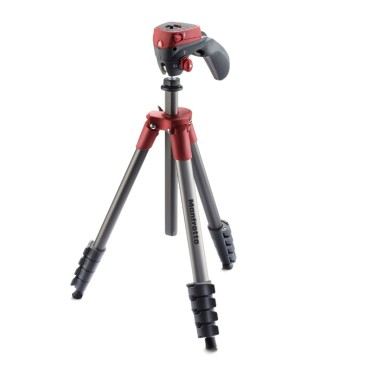 MF COMPACT ACTION TRIPOD RED