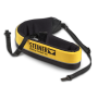 Bright yellow reflective floating neckstrap